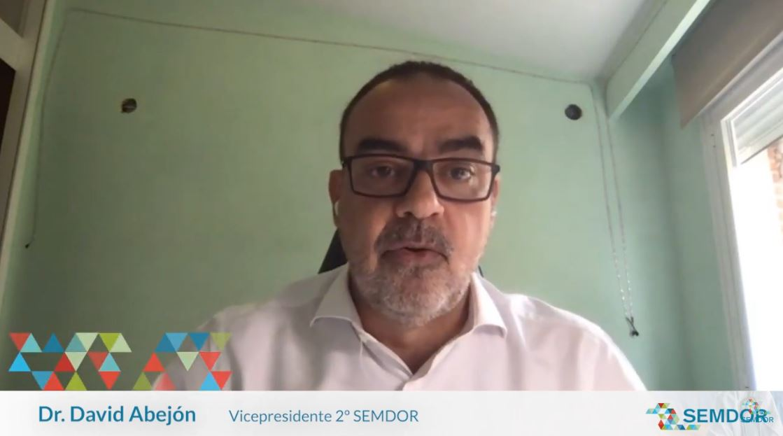 #ICongresoSEMDOR Dr. David Abejón, VicePte 2º de SEMDOR.