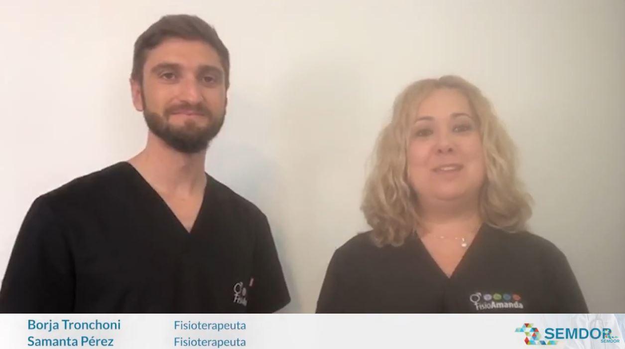 Nueva píldora contra el dolor,  por Borja Tronchoni y Amanda Pérez